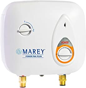 marey electric tankless water heater, electric marey tankless water heater, marey power pack plus water heater
